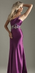 hourglass shape evening dress